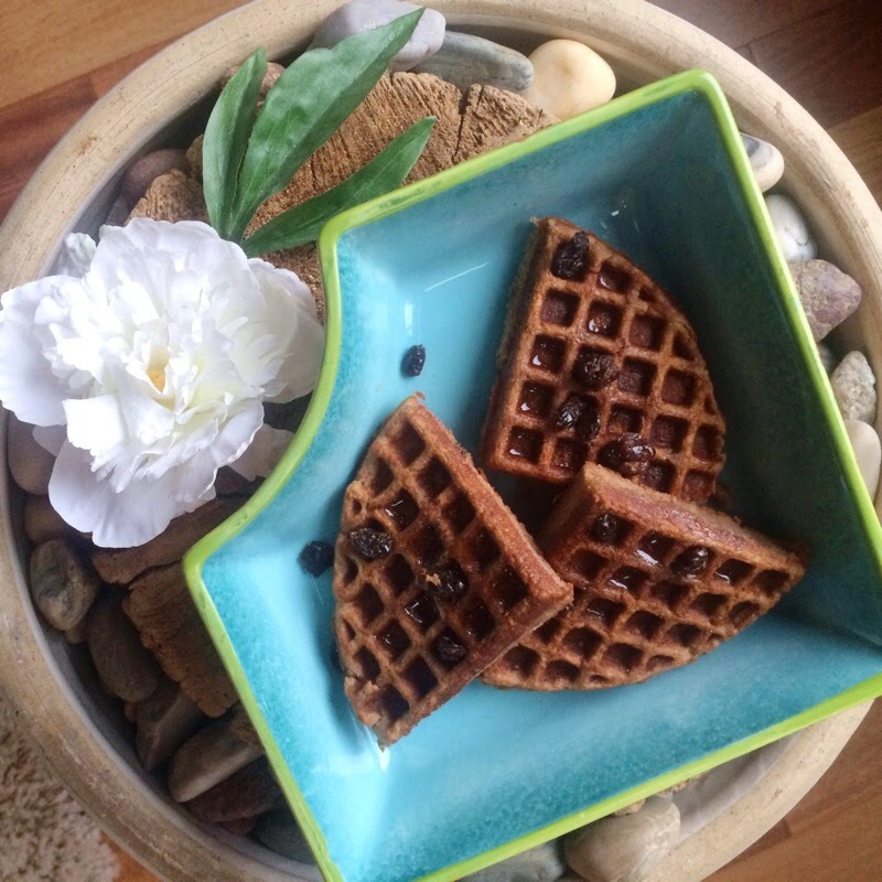 Waffles with Coconut Flour