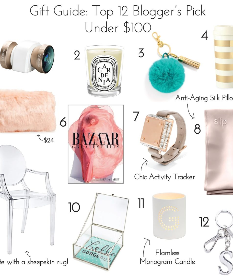 Gift Guide: Top 12 Blogger's Pick Under $100
