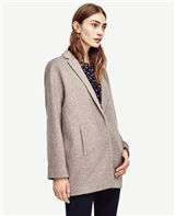 Brushed Cocoon Coat
