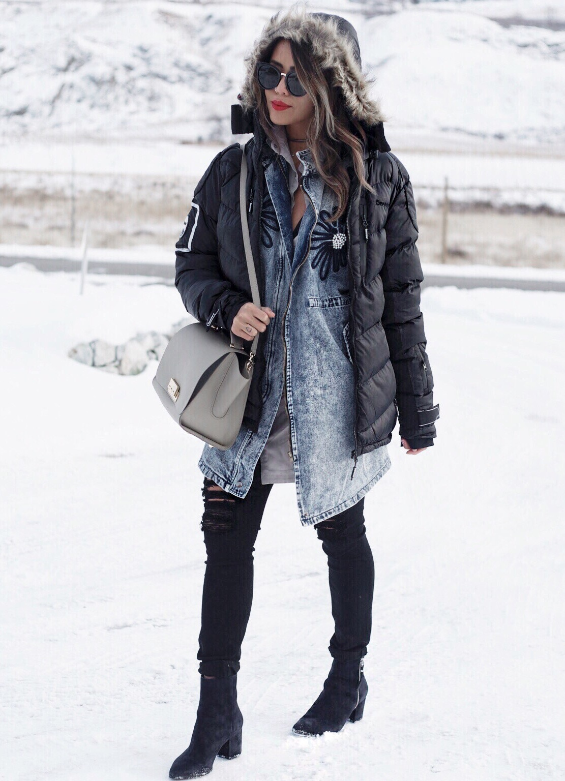 How to Look Chic in a Puffy Jacket
