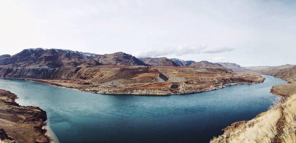 Hiking: Columbia River