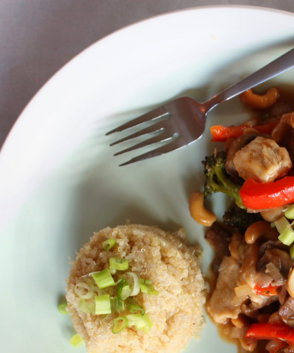 Healthified: Cashew Chicken