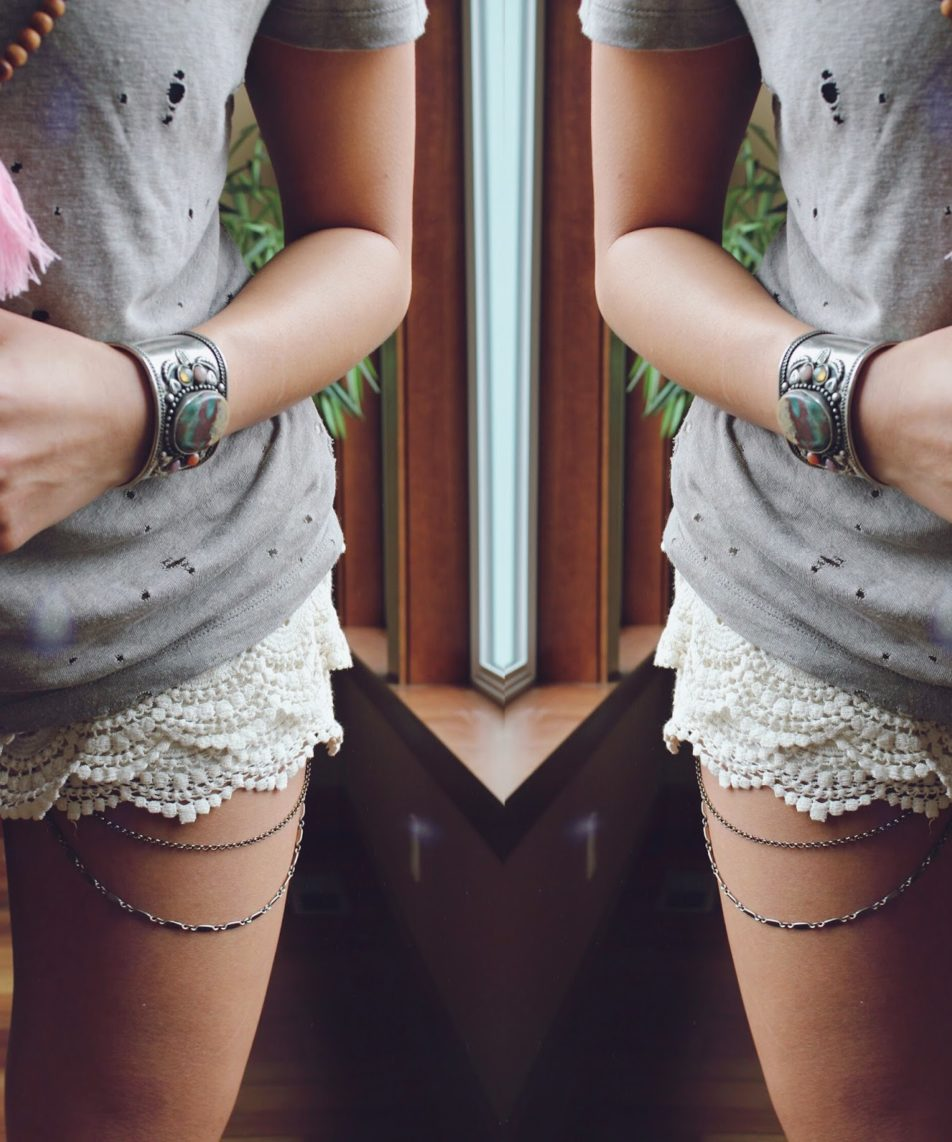 Lace and Metal
