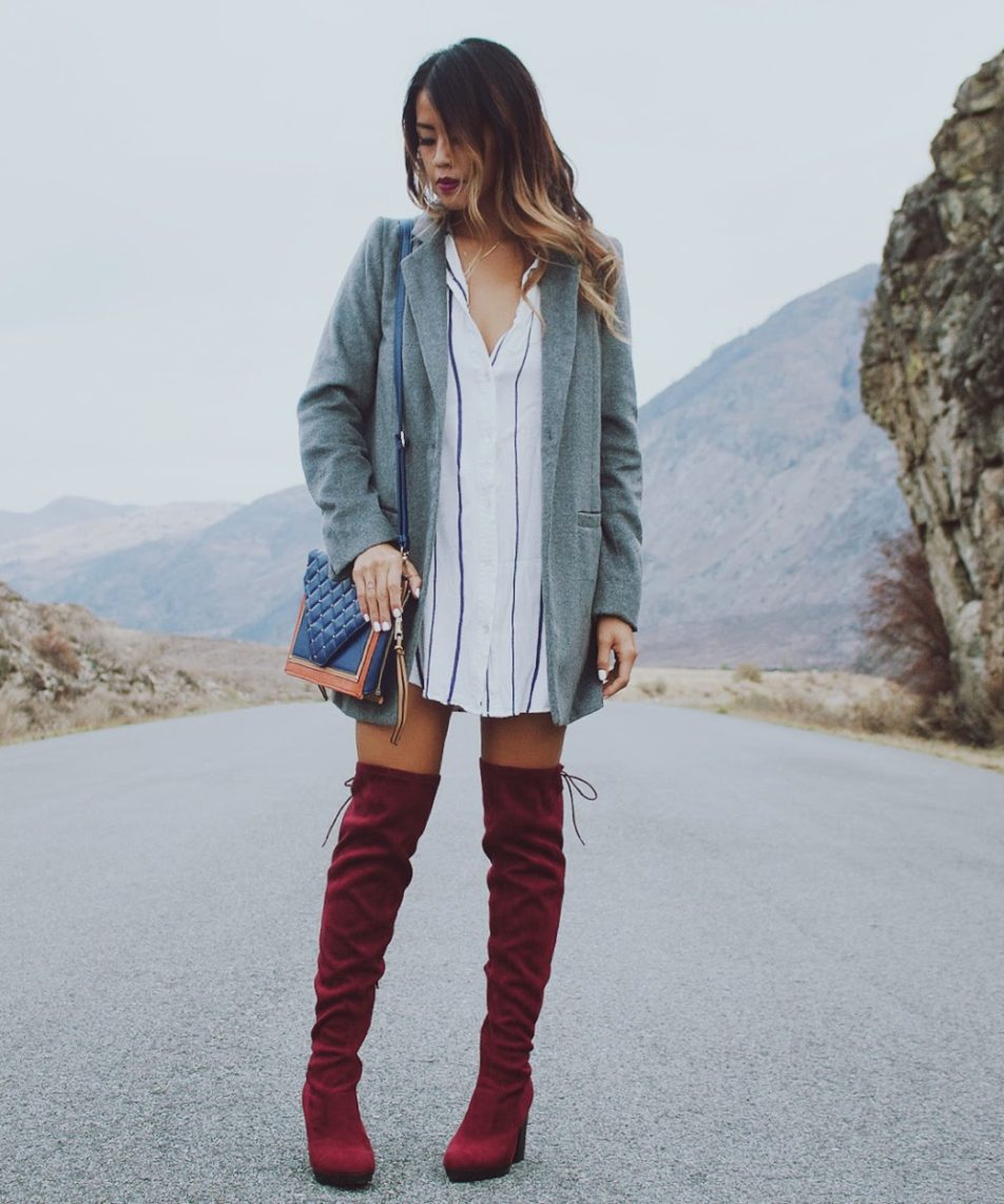 Burgundy Touches for Fall