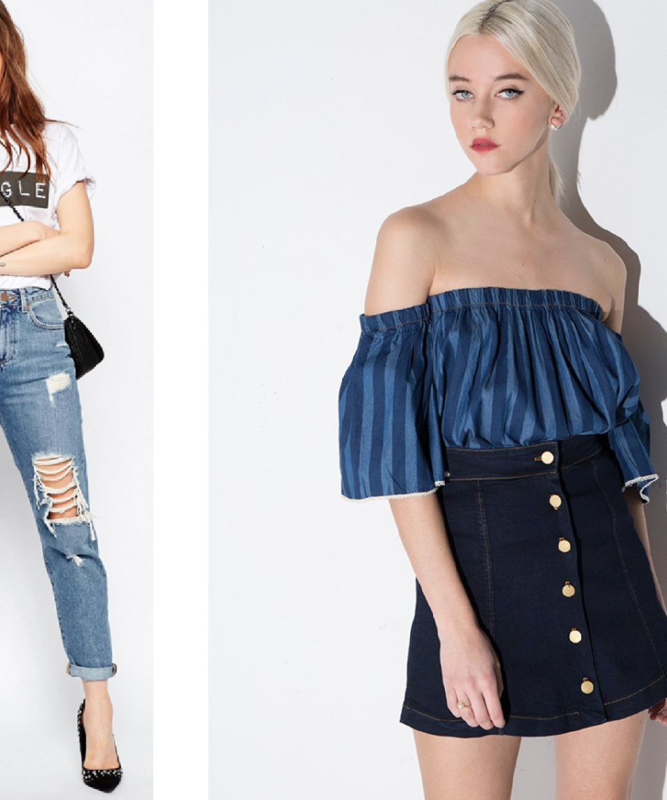How to Wear the Denim Trend for Spring