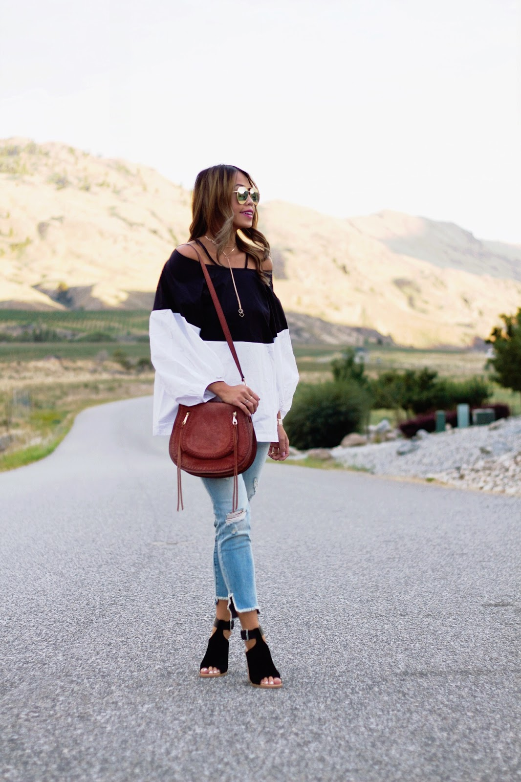 143ca598612c0 How To Wear Off-The-Shoulder Trend for Fall