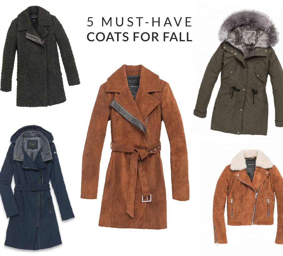 5 Must-Have Coats for Fall