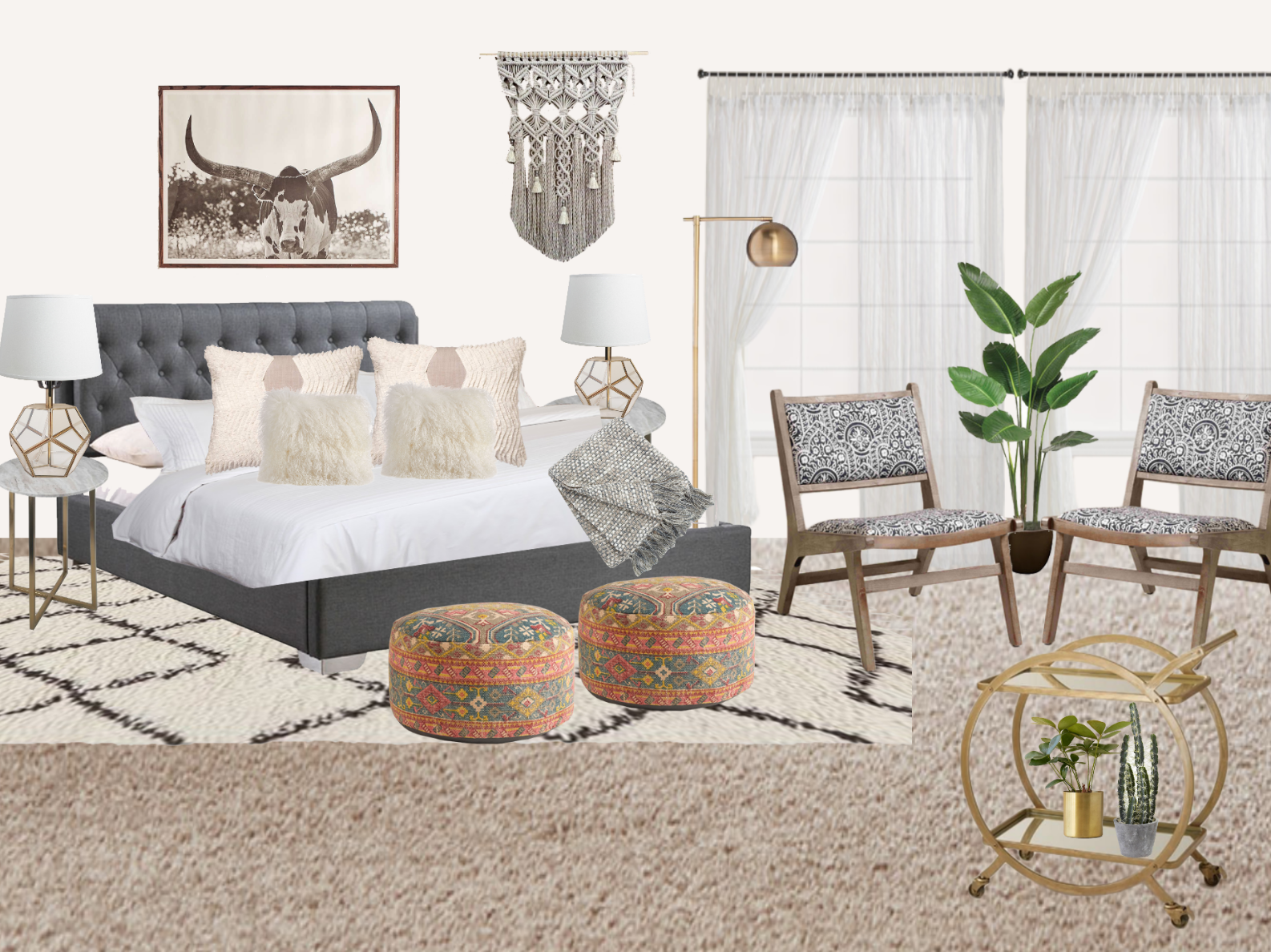 Decorist Review: Master Bedroom Makeover - Part 1 | Gypsy Tan