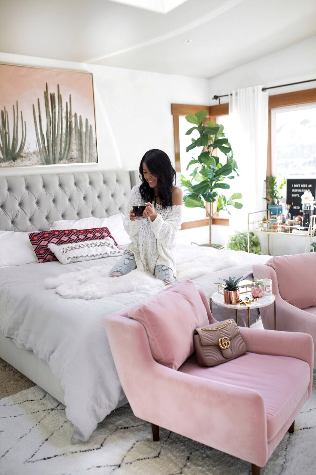 Gypsy Tan Blogger Bedroom Inspiration