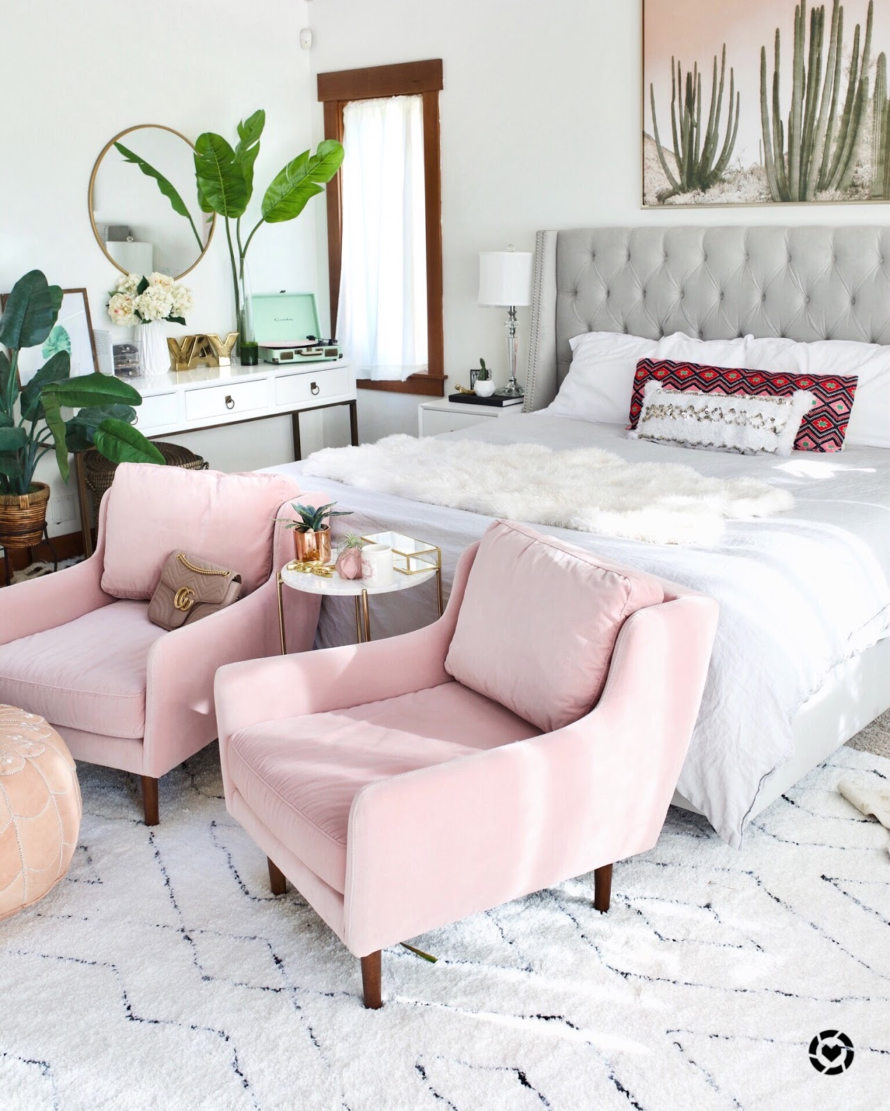 Blush Pink Chairs