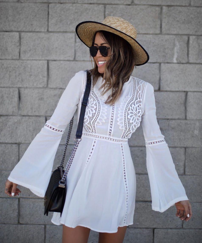 Best Little White Dress for Summer