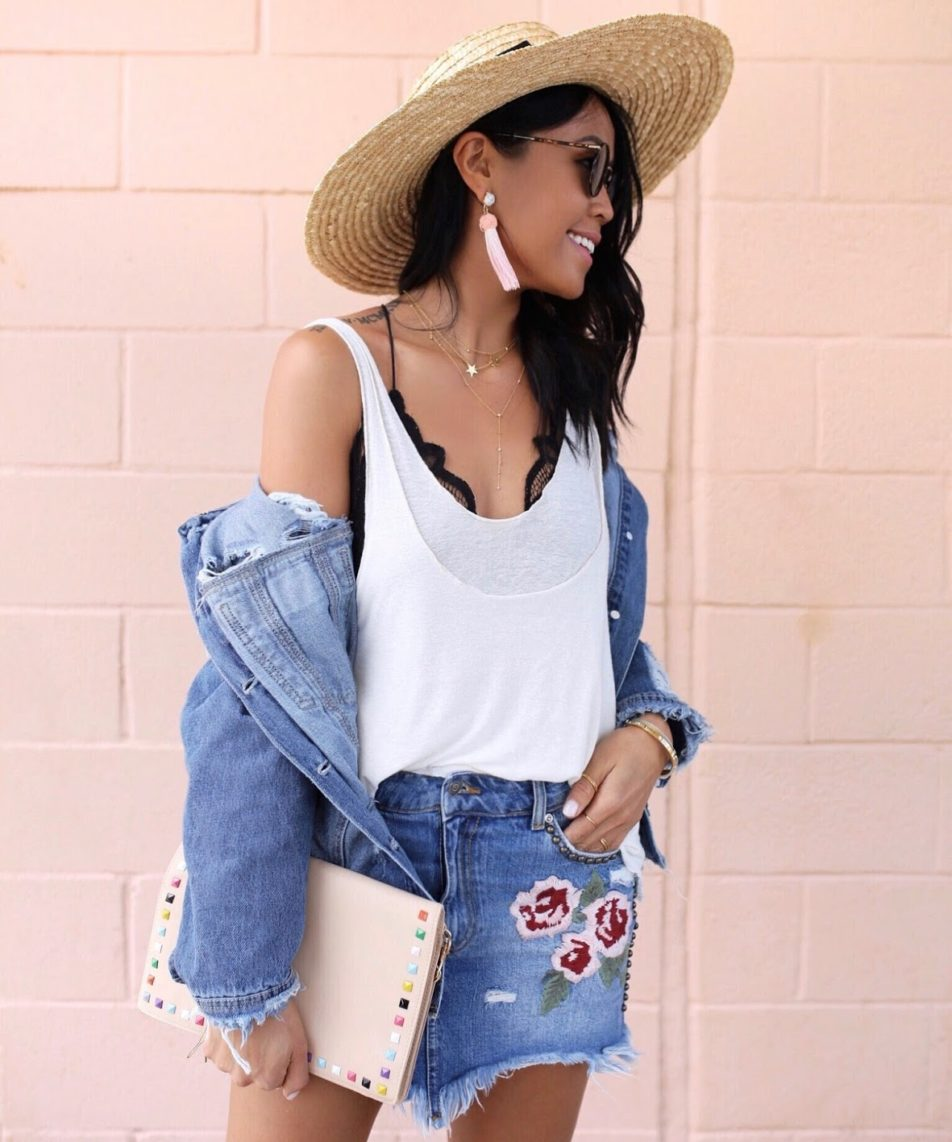 3 Ways to Style Oversized Denim Jacket for Summer