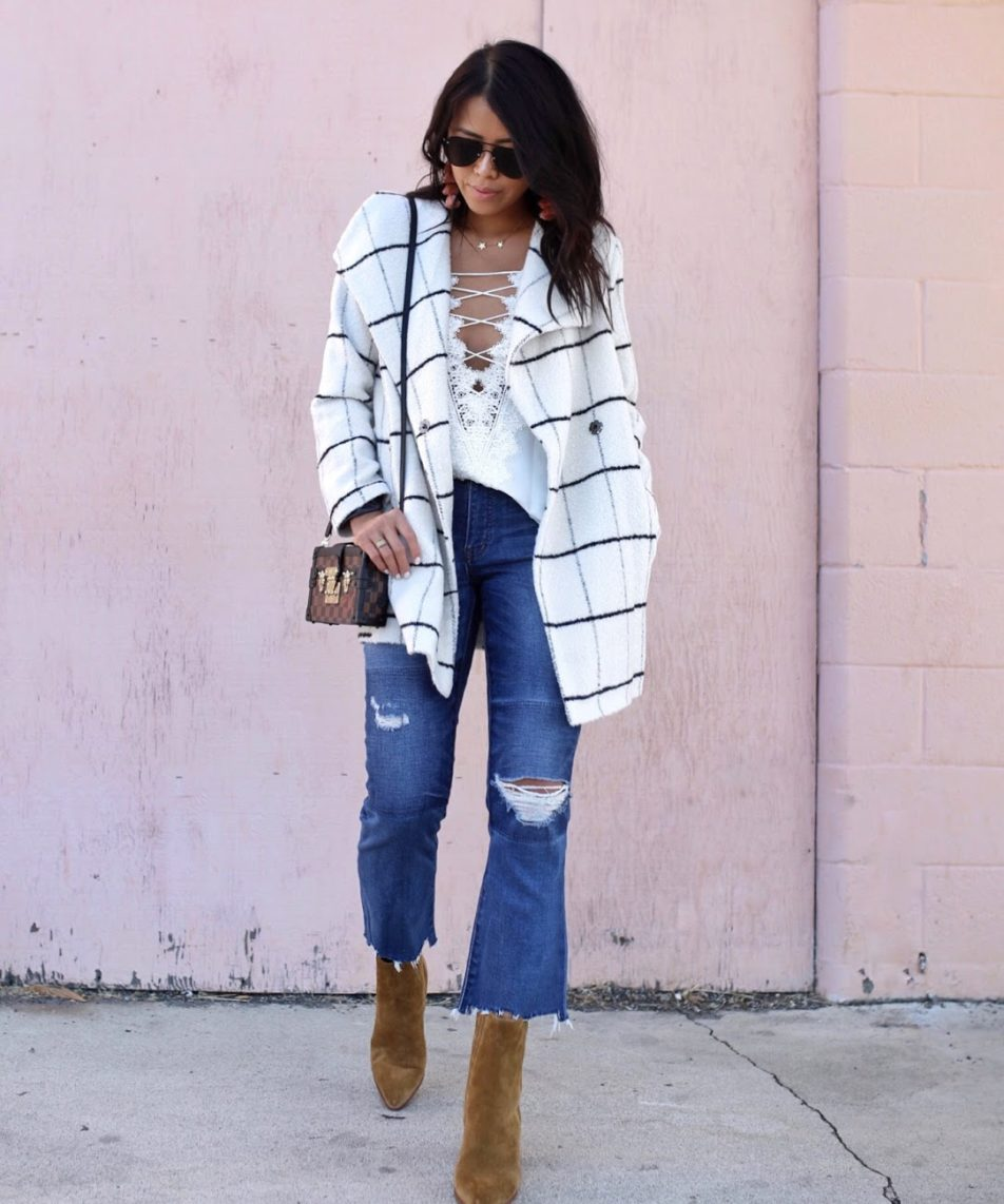 The Plaid Coat That Belong in Your Closet