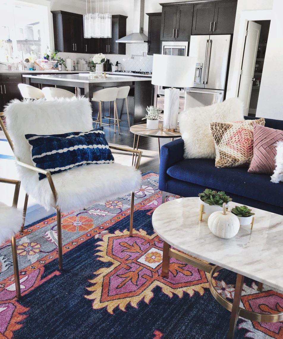 My Boho Chic Living Room – Sneak Peek