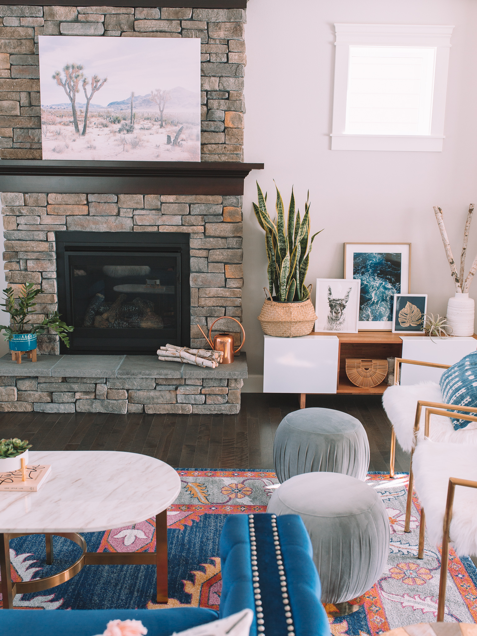 Living Room Reveal Wayfair x Gypsy Tan