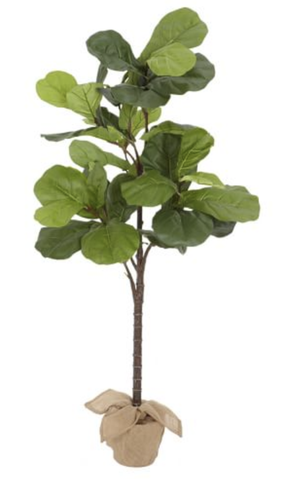 Faux Fiddle Leaf Tree looks real