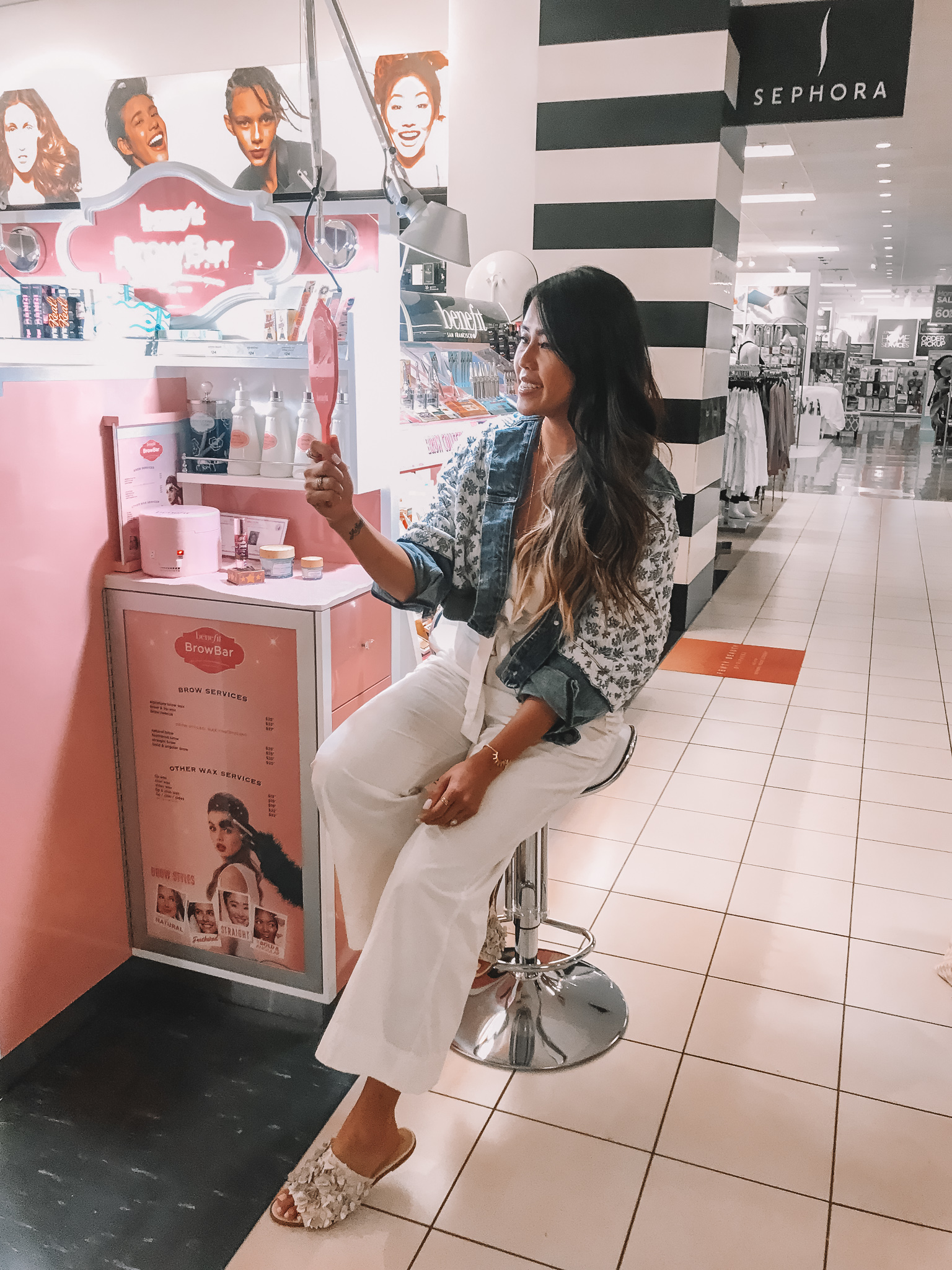 My Benefit Brow Bar Experience At Sephora Inside Jcpenney