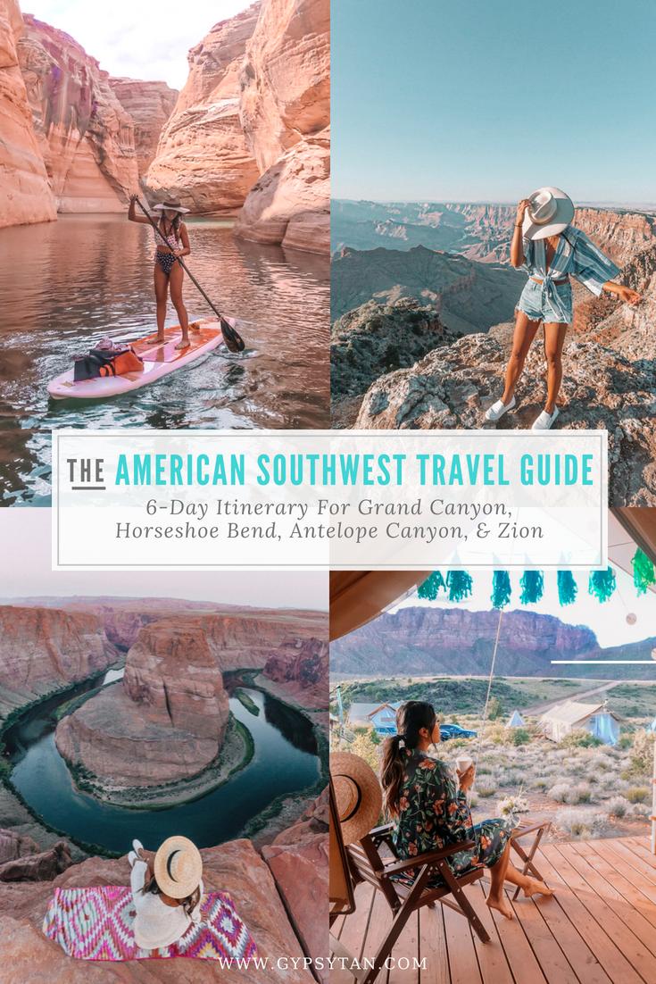 Perfect Itinerary For Vegas Grand Canyon Zion Horseshoe Bend
