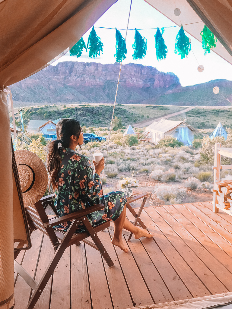 Under Canvas Glamping Zion National Park Utah Travel Guide