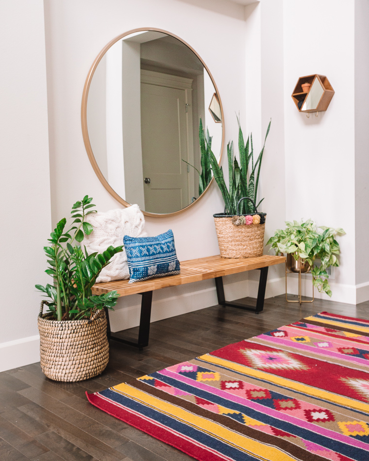 Entryway Decor With Home Depot Gypsy Tan