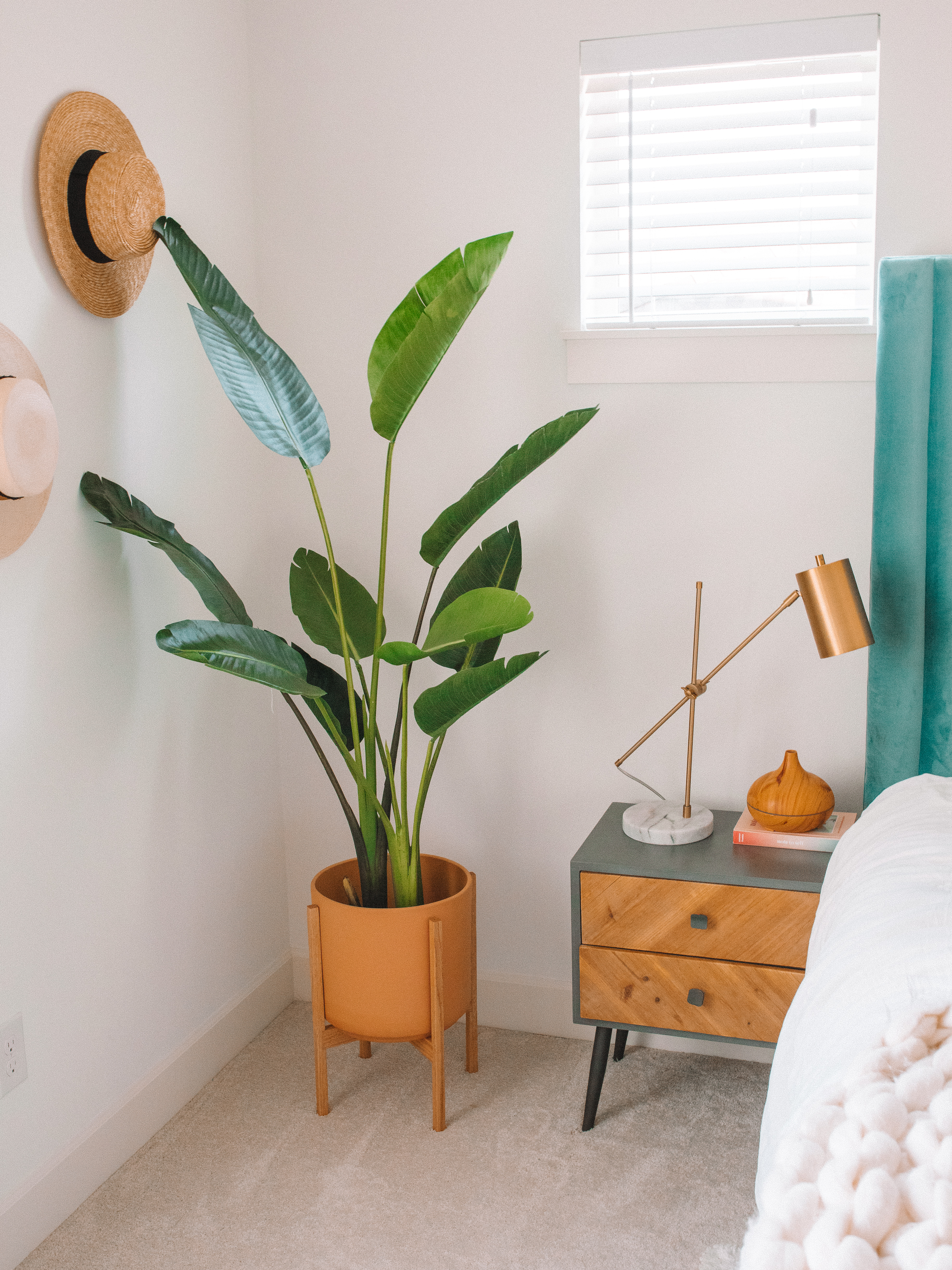 Faux Bird Of Paradise Palm Tree Home