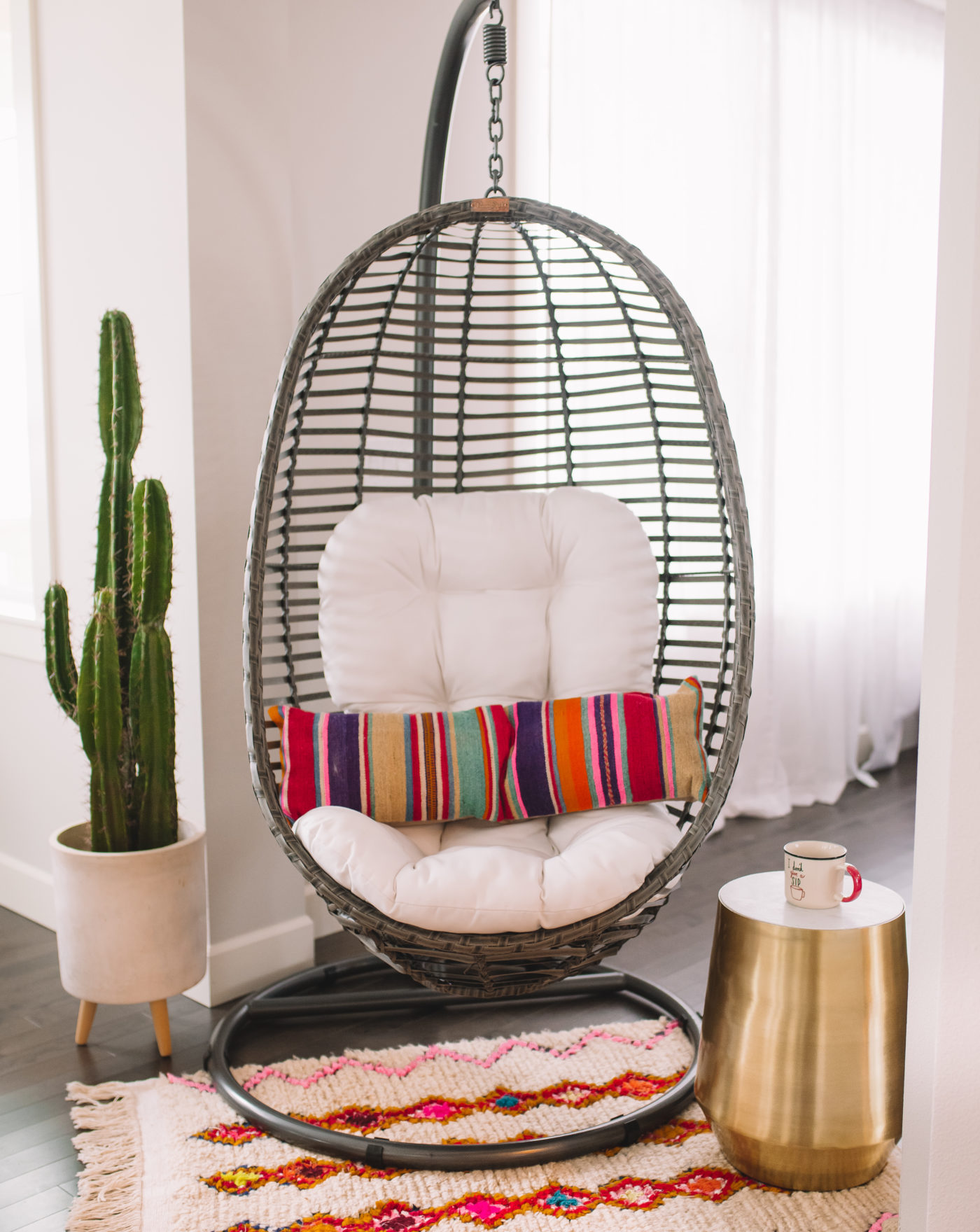 039ba348b6352 Swing Chair with Stand Home Decor Ideas GypsyTan Home