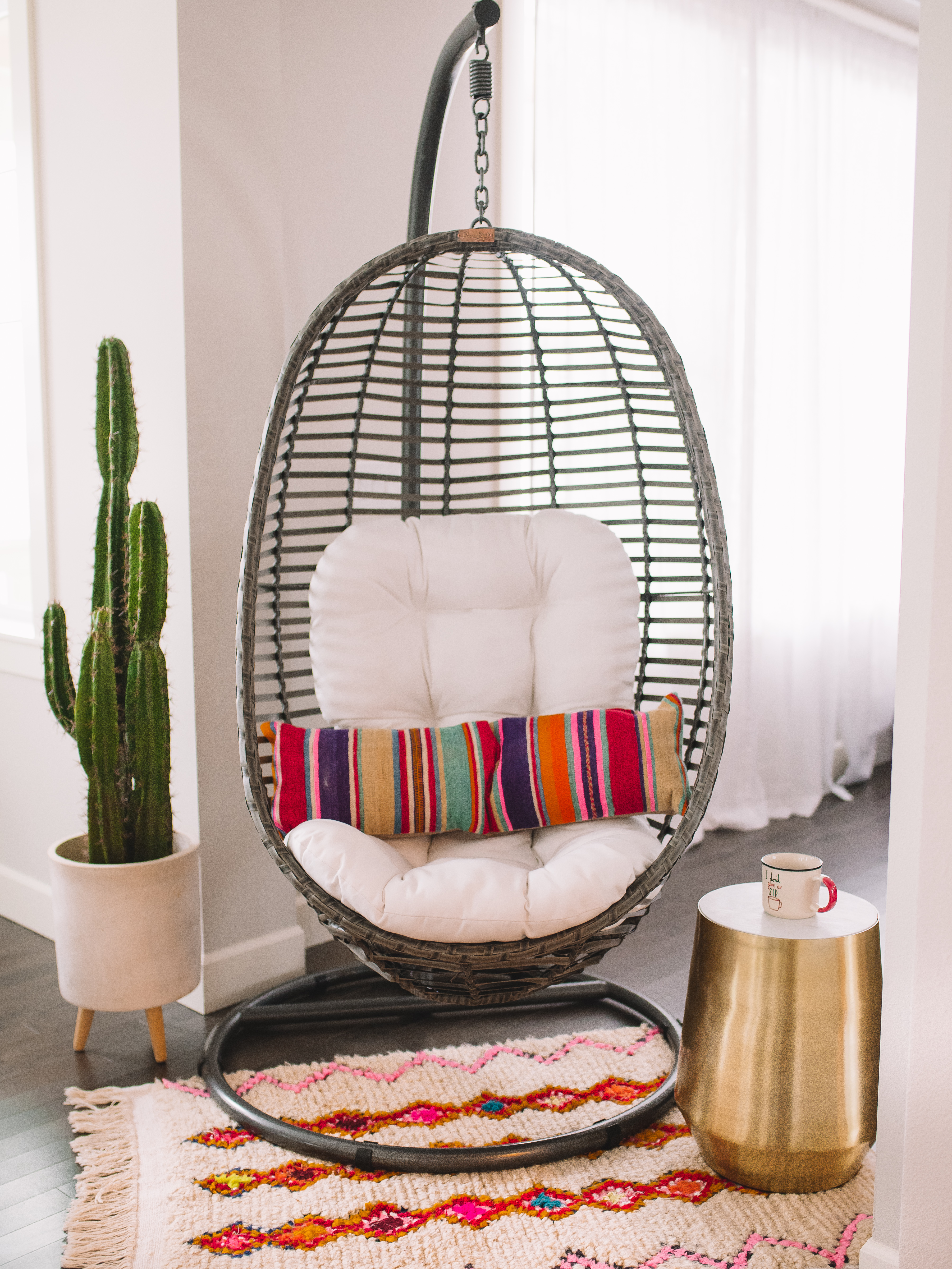 Home Design Ideas Youtube: Swing Chair With Stand Home Decor Ideas GypsyTan Home