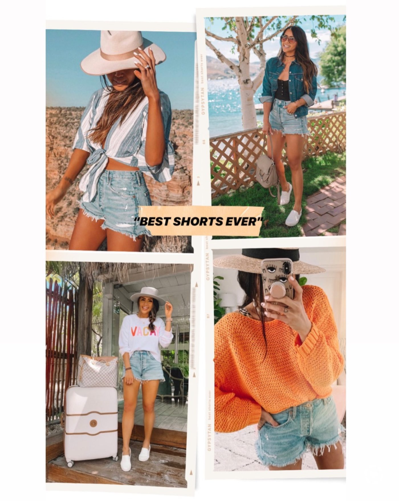 The Short & Long of It: 4 Best Denim Shorts I Own | Gypsy Tan