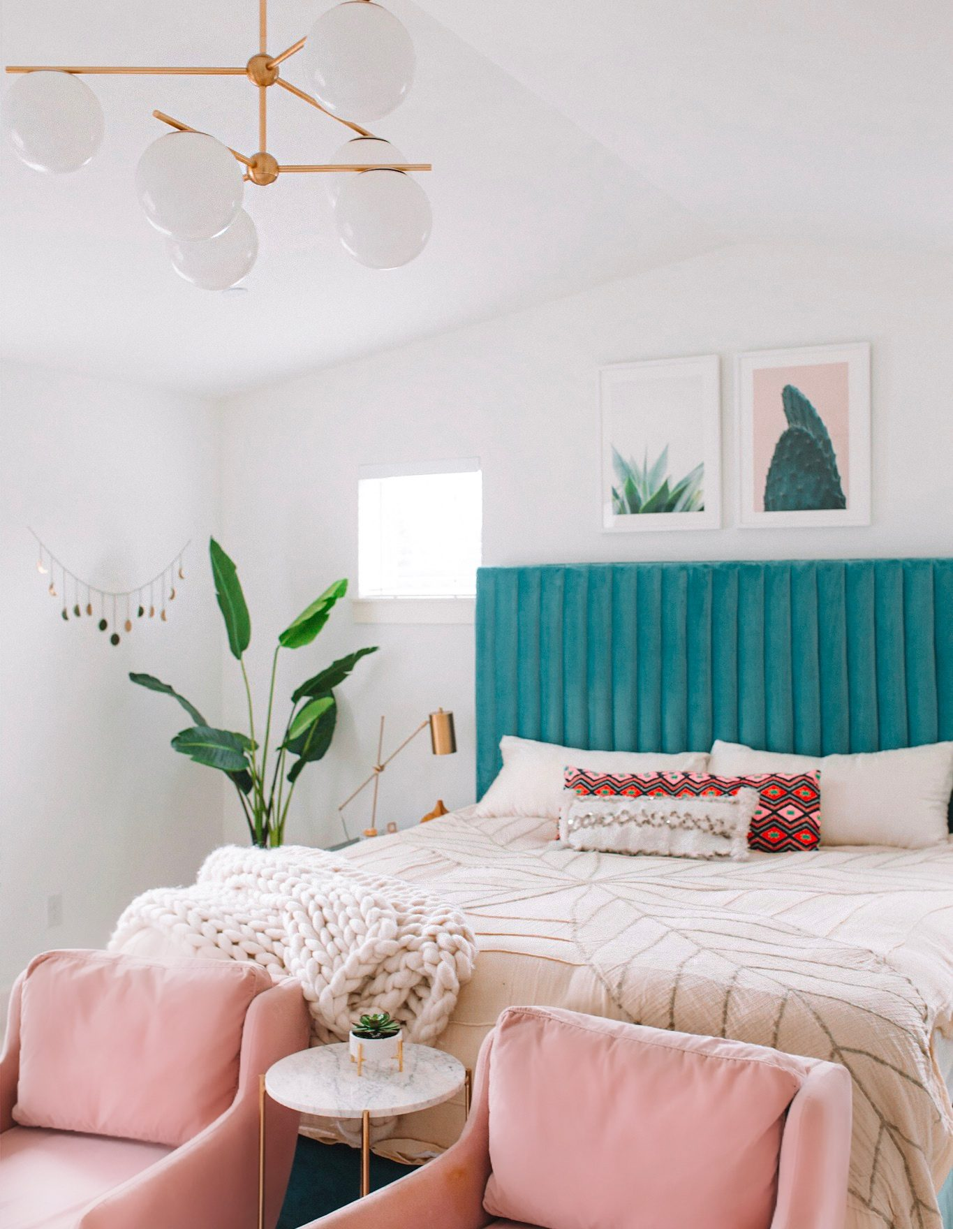 Modern Bohemian Bedroom Update | Gypsy Tan on Modern Boho Decor  id=24093