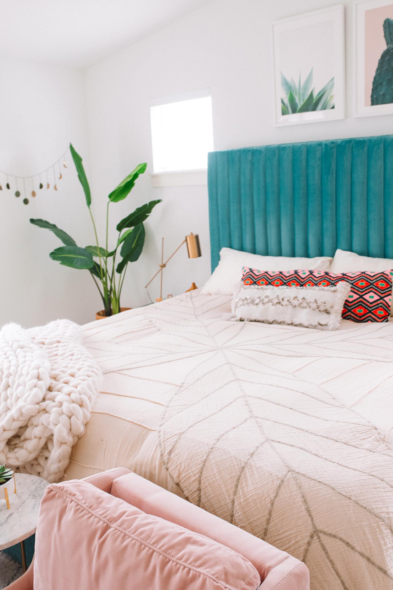 Modern Bohemian Bedroom Update   Gypsy Tan