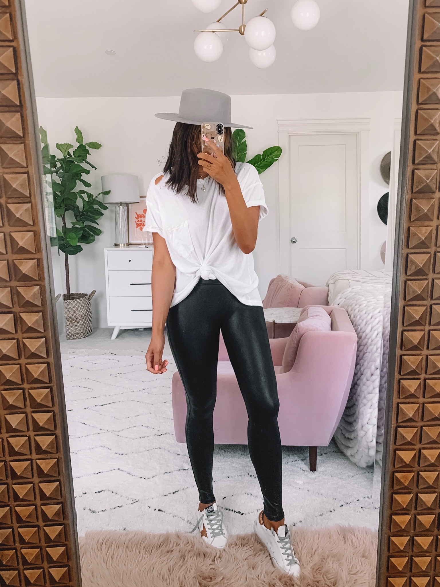 How To Style Faux Leather Legging SPANX 5 Ways