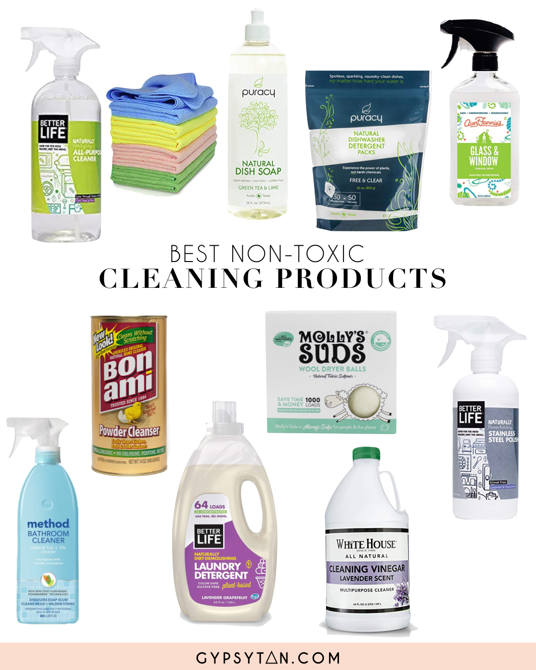 Best Non Toxic Cleaning Products Gypsy Tan