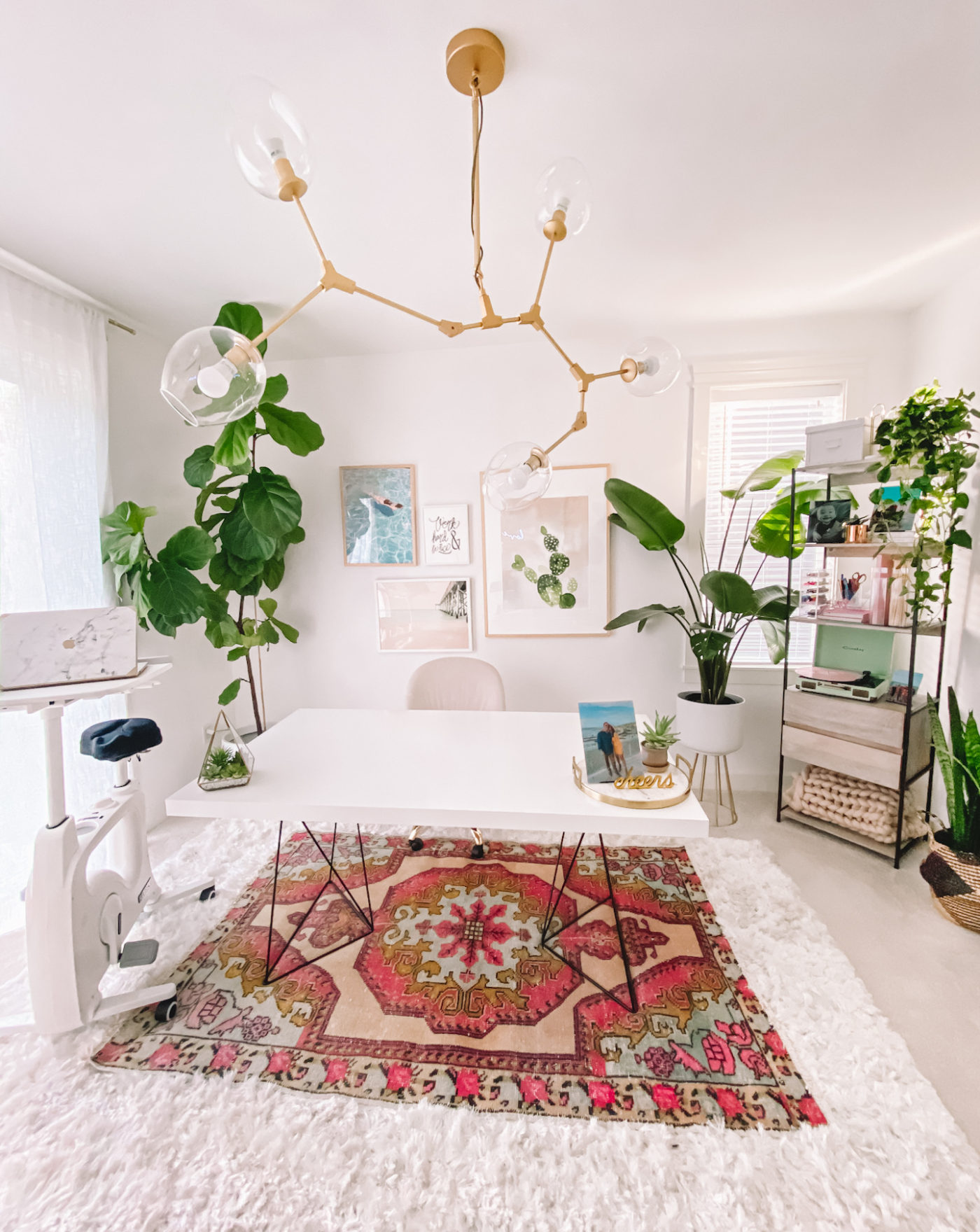 Boho Office Decor Home Office Ideas